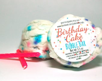 Birthday Cake Bubble Bar - Cake Bubble Bars