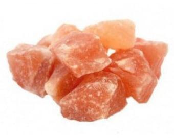 Blocks of salt Himalayan pink