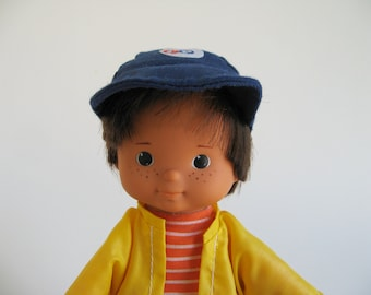 Vintage My Friend Mikey Doll 1978 Fisher Price 240 1970s Toy Retro Toy Boy Doll Lapsitter