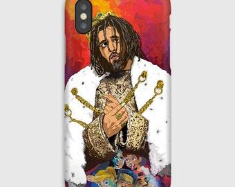 J Cole KOD iPhone Case X 8 7 6 6s Plus Phone Cases Hip Hop Art Hypebeast Gucci Louis Vuitton Bape Supreme Migos Drake Kendrick Lamar Nike
