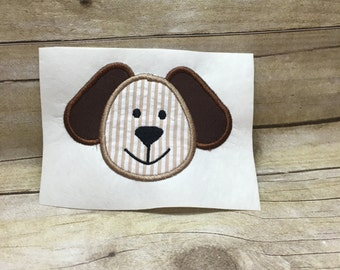 Dog Embroidery Applique, Dog Embroidery Design, Dog Applique