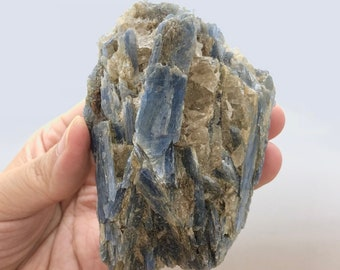 Raw Natural BLUE KYANITE | Chakra Alignment & Clearing | Balance | Intuition | Psychic Abilities