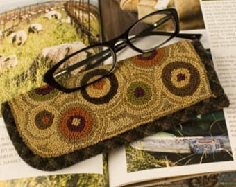 Pattern: Spinning Spectacles Punch Needle - Threads That Bind