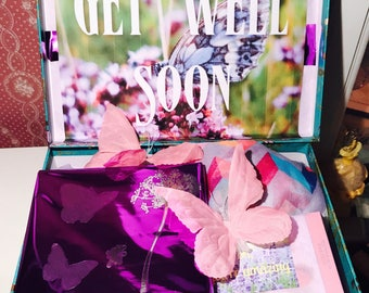 Get Well Care Package. YouAreBeautifulBox. Feel Better Box. Feel Better Gift. Surgery Recovery Gift. Cancer Care Package. Gift for Her. Love