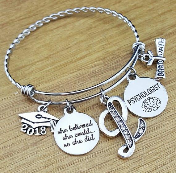 Psychologist Gift Graduation Gift for Psychologist Psychology Gifts Psychology Jewelry Graduation Gift for Her College Graduation Gift 2018