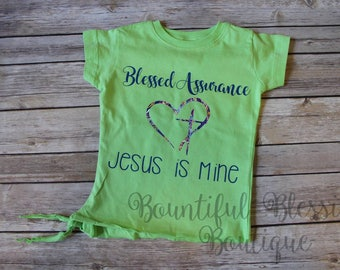 Blessed Assurance Top