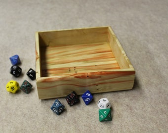 Dice Tray (Flame Box Elder)