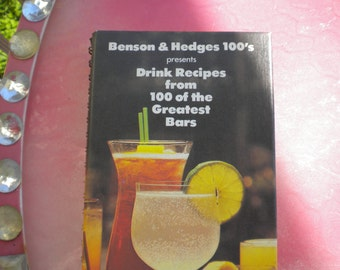 Vintage Drink Recipe Book from the Greatest Bars (1979)