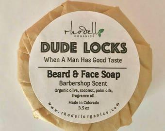 Beard & Face Soap Organic