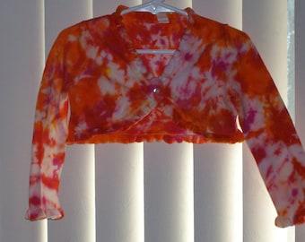 Girls tye dyed sweater
