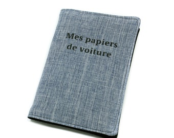 case unisex fabric, Pocket documents auto car papers