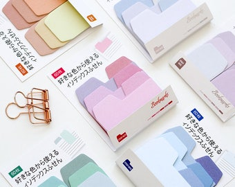 Index sticky notes, Index Note Paper, Mini Notepad, Post it, to do, Kawaii Notepad, cute memo pad, sticky notes set, planner sticky notes