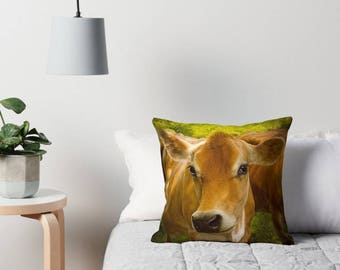 Jersey Gal Cow - Cushion Cover