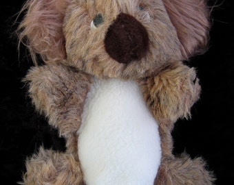 Vintage Koala Puppet, Large Plush Hand Puppet