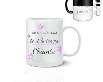Humorous mug I am not boring - magic mug
