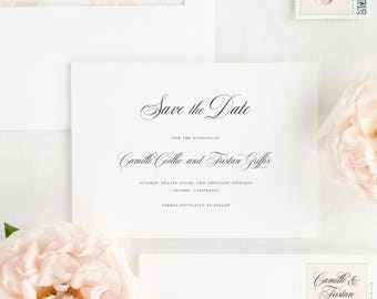 Camille Save the Date - Deposit