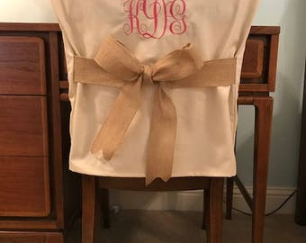 Popular Items For Monogram Chair Cover