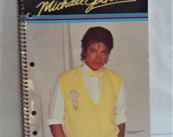 Michael Jackson Spiral Notebook. NOS Rare