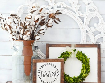 Farmhouse Sign / Farmhouse Decor  /  Rustic Decor / Kitchen Decor / Wall Art / Housewarming Gift / Home Decor / Wall Decor / Gift for Her