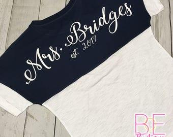 Custom Text Oversized Short Sleeve Shirt
