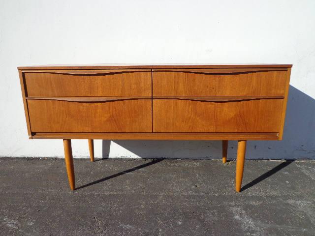 Sideboard Danish Buffet TV Stand Console Mid Century Modern Dresser Media Furniture Cabinet