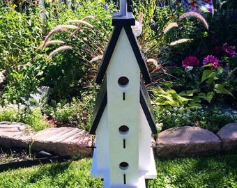 Mission Style Church/Chapel Birdhouse Bird Condo