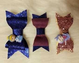 disney Cinderella bow set of 3