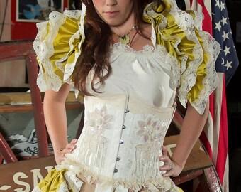 Silk Fae Fairy Opera Shrug Burlesque Woodland Fae Fairy