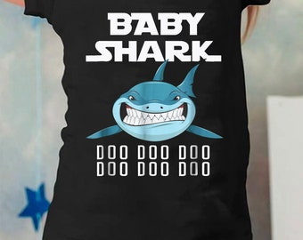 Cute Baby Shark Shirt For Kids From 6 month to 24 month