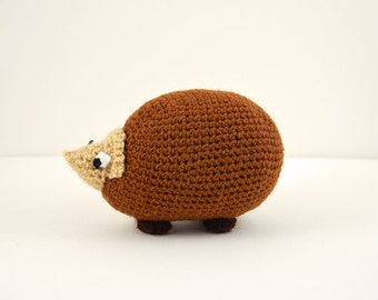 Hedgehog Crochet Pattern, Amigurumi Hedgehog Pattern, Hedgehog Amigurumi Pattern, Forest Animal Crochet Pattern, Cute Hedgehog Pattern
