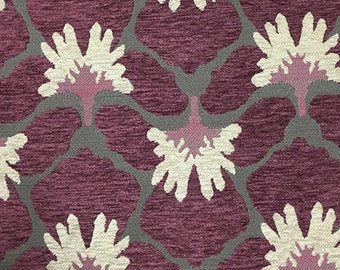 Upholstery Fabric - Chelsea - Amethyst - Heavy Chenille Home Decor Upholstery & Throw Pillow Fabric by the Yard - Available in 8 Colors