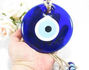 Evil eye ornament home decor, House decor, Turkish home decoration, Blue evil eye, Protection & Good luck, Evil eye protection, Turkish gift
