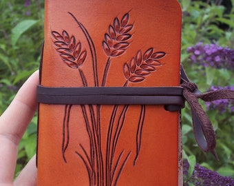 Hand-Tooled Leather Journal