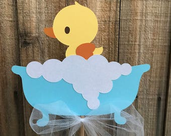 Rubber Ducky Centerpieces, set of 4