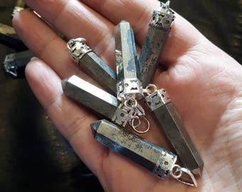 Pyrite Pendulum Pendant