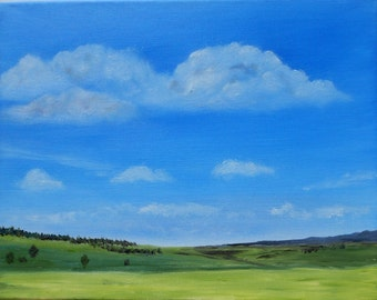 Wide Open - Original Oil Painting 11 x 14 - Landscape