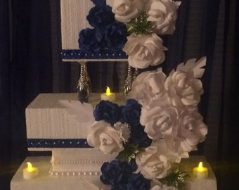 Paper Flowers for wedding cake