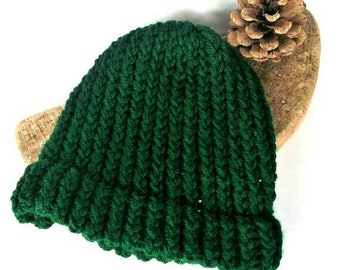 Baby knit beanie toddler knit hat baby knit beanie toddler beanie baby girl winter hat baby boy knit hat green baby hat wool baby hat