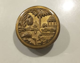Antique button of ancient Egypt - early 1900's.