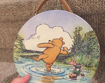 Vintage Winnie the Pooh purse caboodle bag