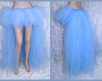 Pastel Cinderella Blue trashy bustle TuTu MTCoffinz Adult Medium - Ready to Ship