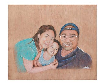 Plywood Portraits