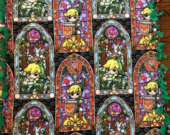 Legend Of Zelda Fleece Tie Blanket