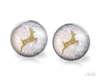 Christmas Earrings Winter-11