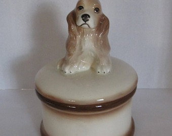 Bull Dog Cookie Jar 9 1 2 Inches Tall