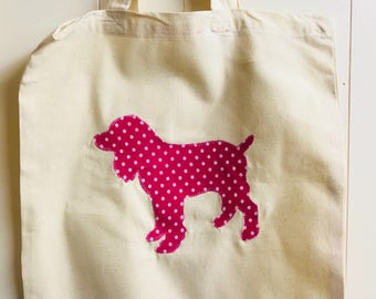 Breed/Animal Specific Handmade Cotton Shopping Bag - Most breeds available Just Ask
