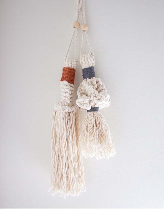 Macrame Door Tassels Color Block
