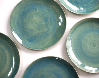 Stoneware Plates ... & Stoneware plates | Etsy