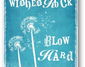 Wishes / Quote / DIGITAL Typography Poster / Printable