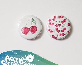 "Badge 1 ""- March 2018 gift""Cherries"""